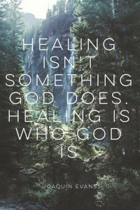 healing is who God is
